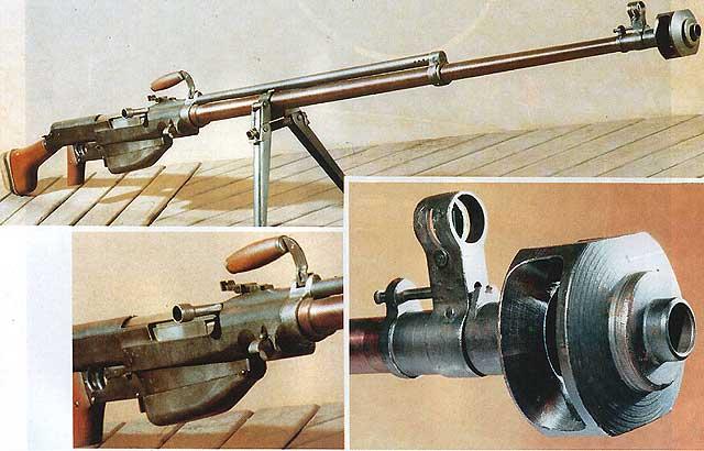 PTRS-41 Anti-Tank Rifle
