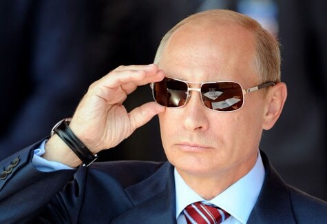 Putin lookin badass