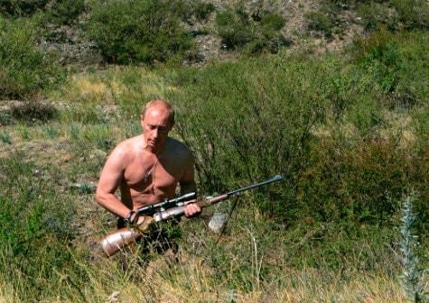 Putin hunting