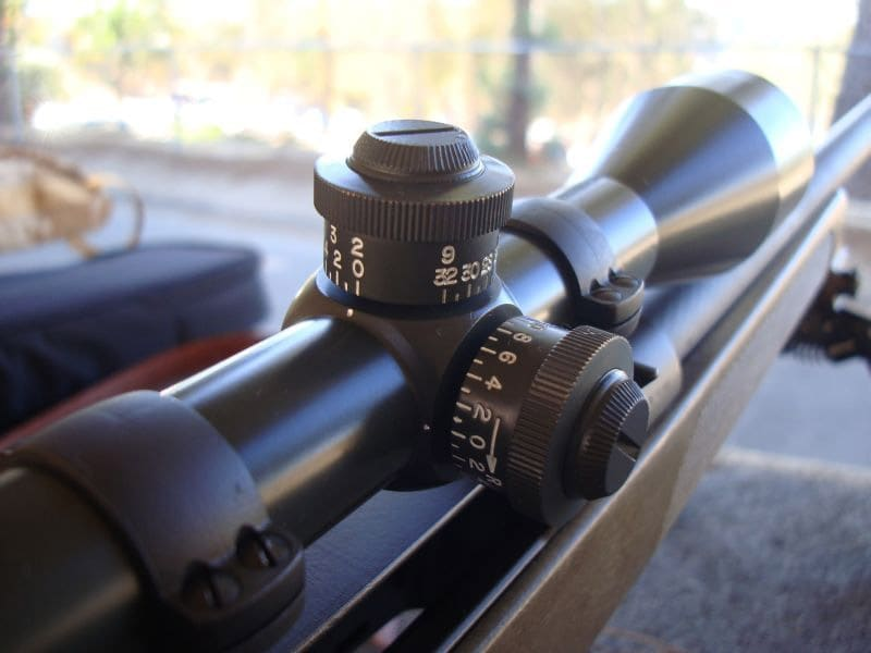 scope adjustments
