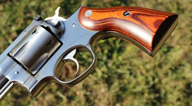 The Ruger Redhawk's grip