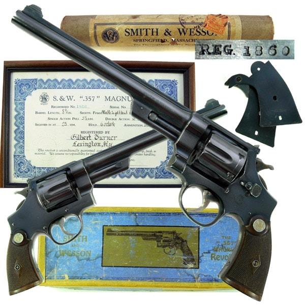 smith and wesson original magnum revolver
