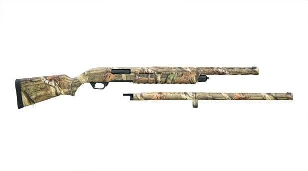 Remington 887 Nitro Mag Camo Combo Pump Action Shotgun