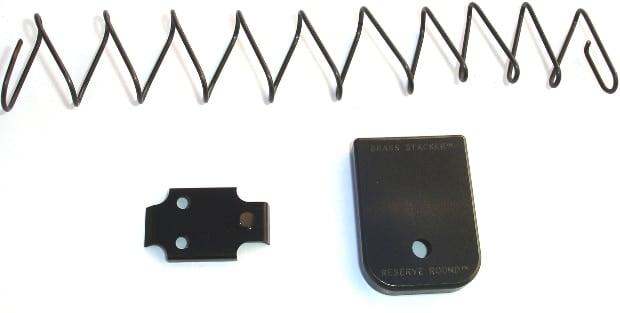 floorplate installation for a glock handgun