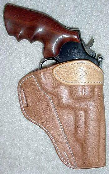 Revolver belt loops.