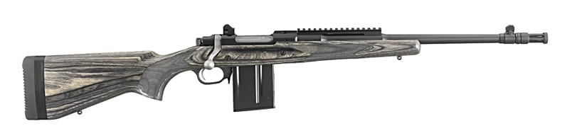 gunsite scout rifle side view