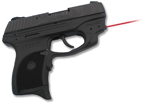 ruger lc9 handgun with laser optic