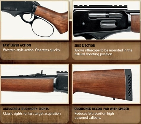 The features of the new Rio Grande firearms