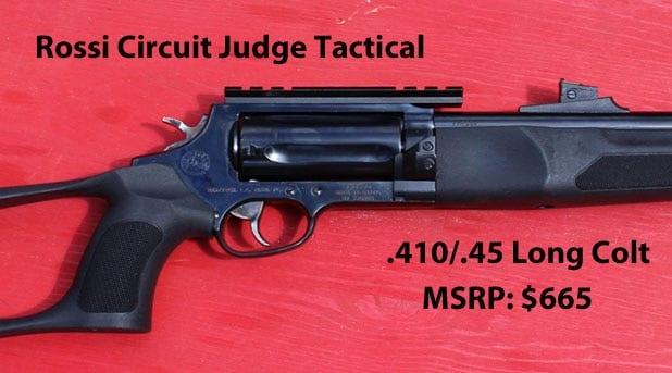 Rossi Circuit Judge Tactical specs