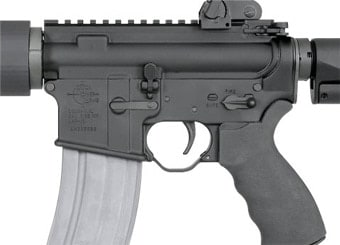 Here's a look at the controls on Rock River's take on the AR-15.