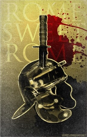 rome sweet rome poster