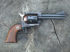 The Ruger Blackhawk managed to turn Colt's SSA design into a popular and successful revolver of its own.