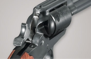 The Ruger New Bearcat rear sight, hammer and transfer bar