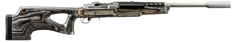 Ruger Mini-14 Target with a synthetic stock.