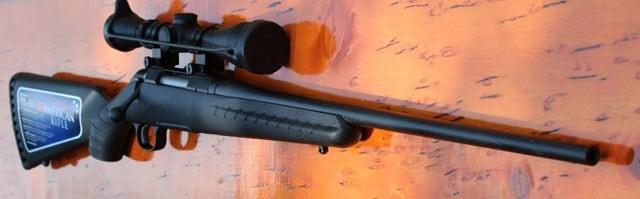 Ruger American Rifle on display