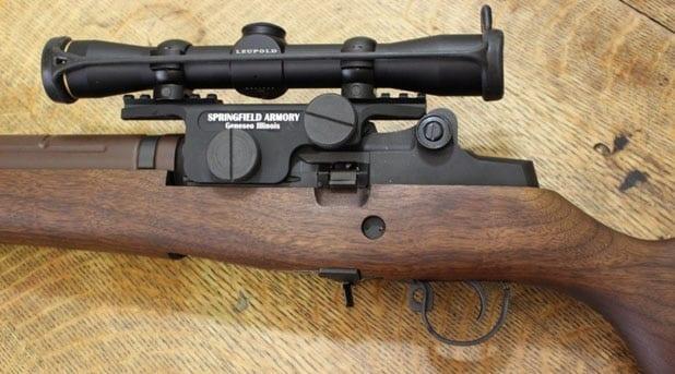 Leupold Mark AR Scope on the M1A