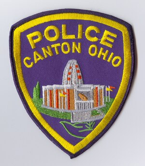 canton ohio police badge patch