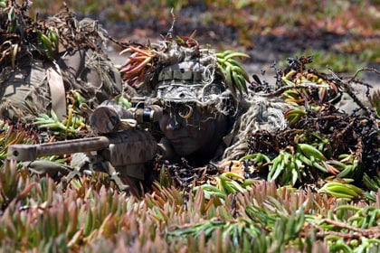 Military sniper.