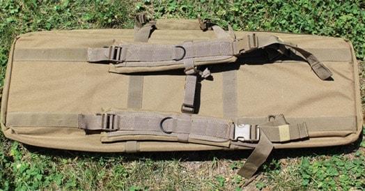 Sig Sauer Guns GoBag back with straps.