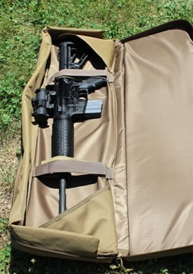 Sig Sauer Guns GoBag with an M4 in it.