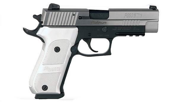 sig p220 platinum elite pistol