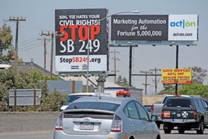 Leland Lee Billboard