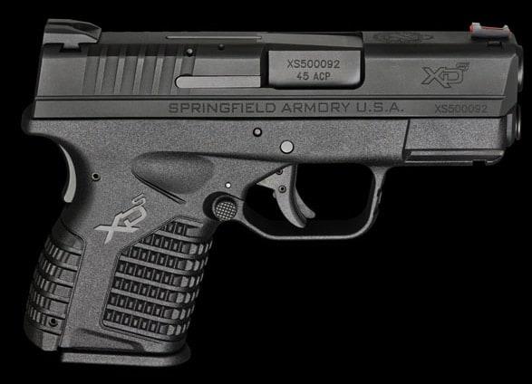 Springfield XDs .45 caliber pistol