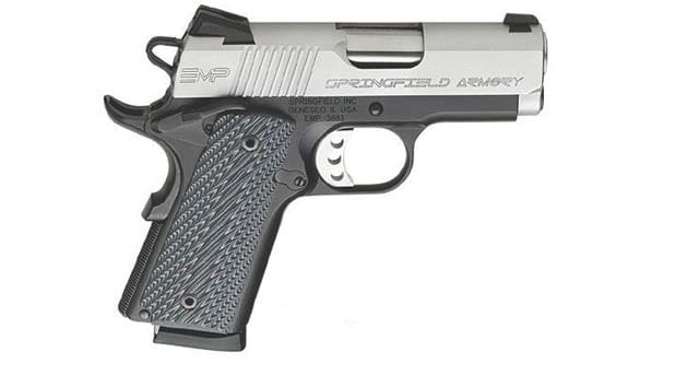 Springfield 1911 Enhanced Micro Pistol emp