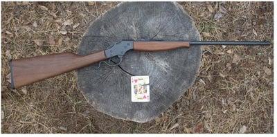Single shot rifle.