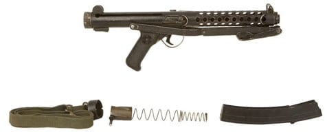 Sterling SMG 9mm