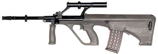 steyr aug in profile