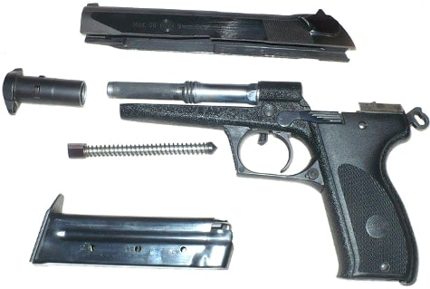 Steyr GB disassembled