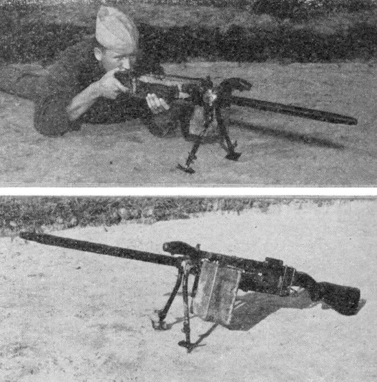 Marine with Stinger machine gun.