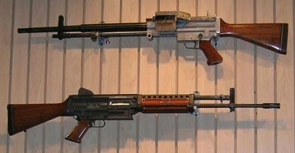 Stoner 63 configurations.