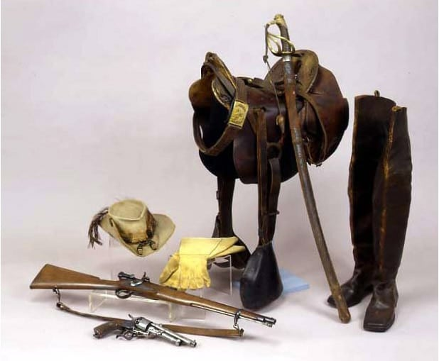 confederate officers gear