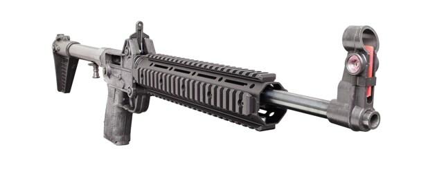 Kel Tec Sub-2000 Carbine Shooting 9mm