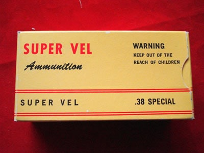 Super Vel's Original Jacketed Hollowpoint.