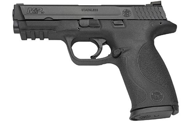 m and p 40 handgun