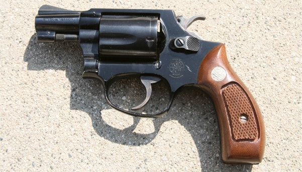 The Smith & Wesson Model 37 Airweight.
