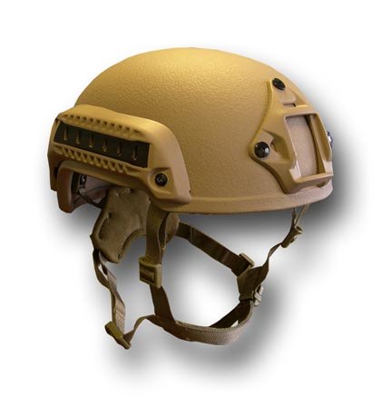 tactical shooting helmet