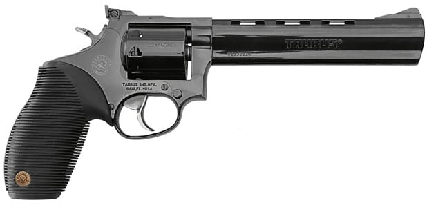 The Taurus Model 992 Tracker, a .22 LR and .22 WMR revolver.