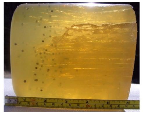 Ballistic gelatin