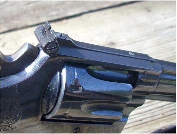 S&W Model 27 .357 Magnum Rear Sight
