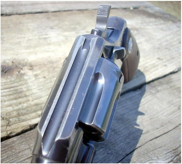 Groove Rear Sight and Handgun Scope Mounts