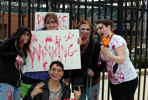 zombie cosplay