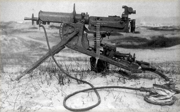 first thompson machine gun