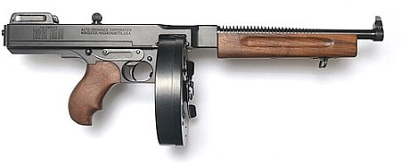 thompson modern day tommy gun