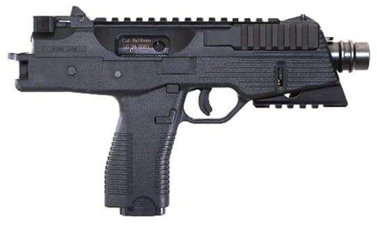 B&T TP-9 Pistol Handgun 9mm on white background
