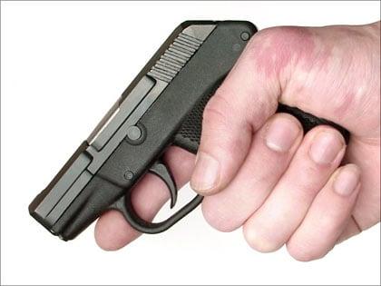 Finger position.