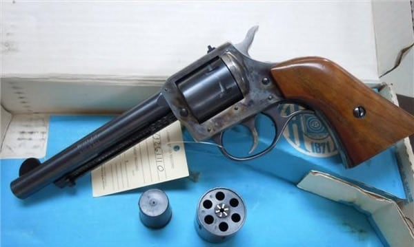 H & R .22 revolver.